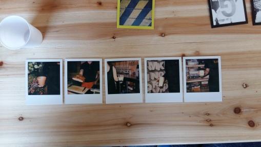 3ème prix - Rébut (Polaroid)
